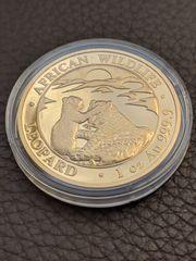 Gold Goldmünze Somalia Leopard 2019