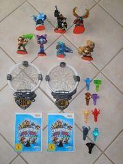 Verkaufe Skylanders Spiele Portale Figuren