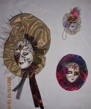 Venezianische masken Konvolut 5