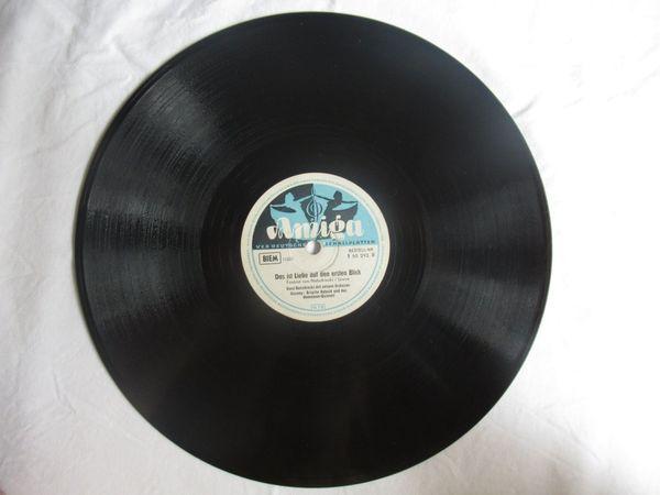 Schellackschallplatten Schellackplatte