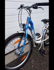 Pucky Fahrrad hellblau