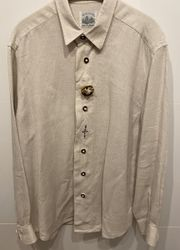 Hemd Leinenhemd Trachtenhemd von Alpenstil