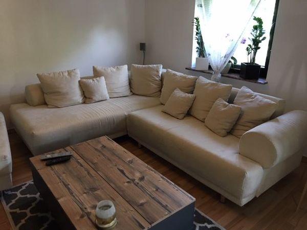 Eckcouch -sofa mit Schlaffunktion Stauraum