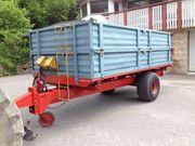 Verkaufe Traktor Anhänger 5 Tonnen