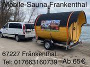 Mobile Sauna Fasssauna Sauna Mieten