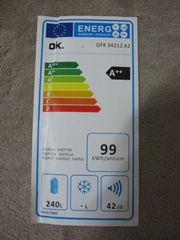 Kühlschrank OK -240 Liter -Im