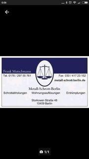 Kostenlose Abholung Schrott Schrottabholung Berlin
