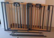 3 Geuther Treppenschutzgitter Easylock Wood