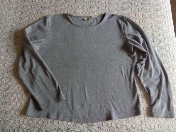 Shirt Langarm Langarmshirt hellgrau ca