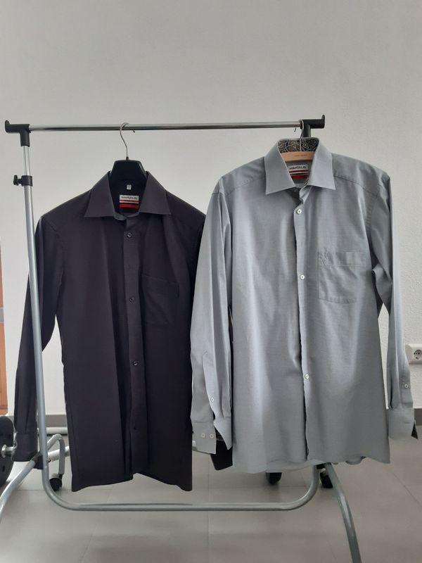 Hemden 2 St Modern Fit