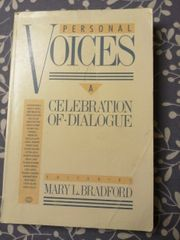 Personal Voices a celebration of