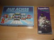 2 Spiele AUF ACHSE SUPERHIRN