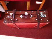 Antik Leder koffer