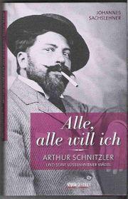 ARTHUR SCHNITZLER BIOGRAPHIE - SEXMANIAC - OVP