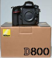 Nikon D800 Body Vollformatkamera FX