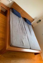 Bett 180x200cm günstig abzugeben
