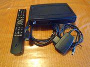 A1 TV Box mit Netzwerkkabel