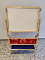 Spieltafel Kindertafel Schultafel mit Uhr