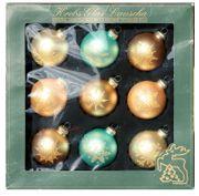 9 Lauscha Christbaumkugeln Weihnachtskugeln 8