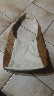 Handtasche beige braun