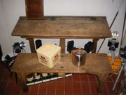 Antike Schulbank