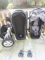 Kinderwagen mit Buggyschale MaxiCosi Autoschale