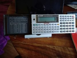 Pockets, Handhelds, Organizer, PDAs - Sharp PC-1403