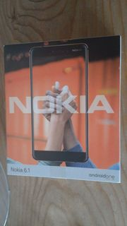 Nokia 6 1 white iron