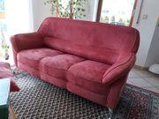 Sofa 3-Sitzer Veloursoptik