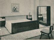 Mahagoni-Schlafzimmer komplett 50er Jahre