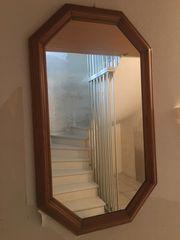 Wandspiegel aus Eiche