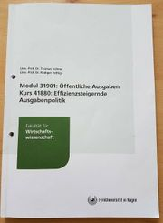 Fernuni Hagen Pflichtmodul Öffenliche Ausgaben