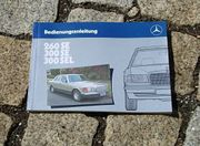 Betriebsanleitung Mercedes W126 260 SE