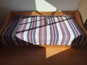 Sofabettett Vollholz mit Bettschublade und