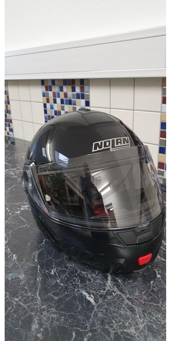 Hose und Nolan Motorradhelm