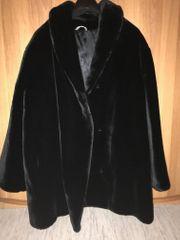 Damen Winterjacke aus Webpelz Gr