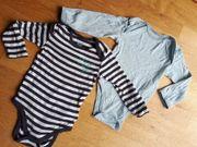 2 Langarm Baby Bodys Größe