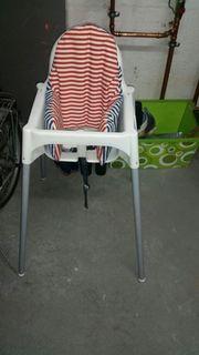 Ikea Kinderhochstuhl mit Einsatz