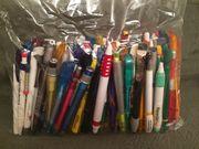 84 Kugelschreiber für sammler mit