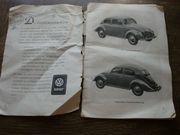 Betriebsanleitung für Oldtimer VW-Käfer