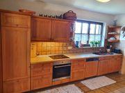Küche Echtholz Schreinerküche inkl Brotschneidemaschine