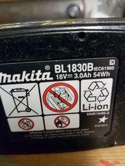 Makita Akku 18 V