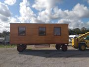 Bauwagen tinyhouse 8m Zirkuswagen Holz