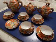 Asiatisches Teeservice GKBCO - um 1930