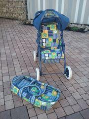 Puppenkinderwagen Kinderwagen für Puppe