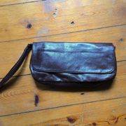 Kleine braune Handtasche