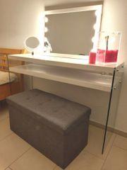 Hollywood Schminkspiegel Schminktisch Tisch Spiegel
