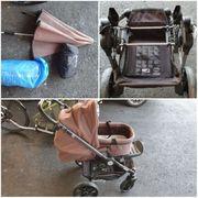 Teutonia Kinderwagen mit Zubehör
