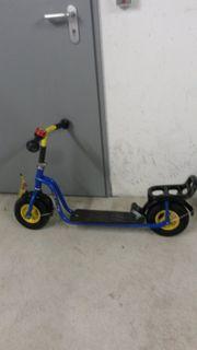 Roller von Puky blau gelb