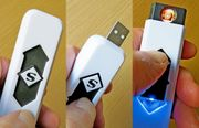 Gutes USB-Feuerzeug Nie wieder Gas